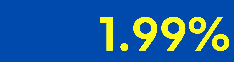 Renault autoliisingu intress 1.99%
