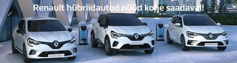 Renault hübriidautod nüüd saadaval FA